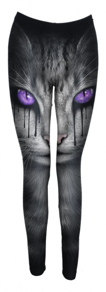 Tajice CAT'S TEARS - Allover Comfy Fit Leggings