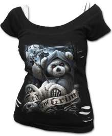 Ženski t-shirt TED THE GRIM - TEDDY BEAR
